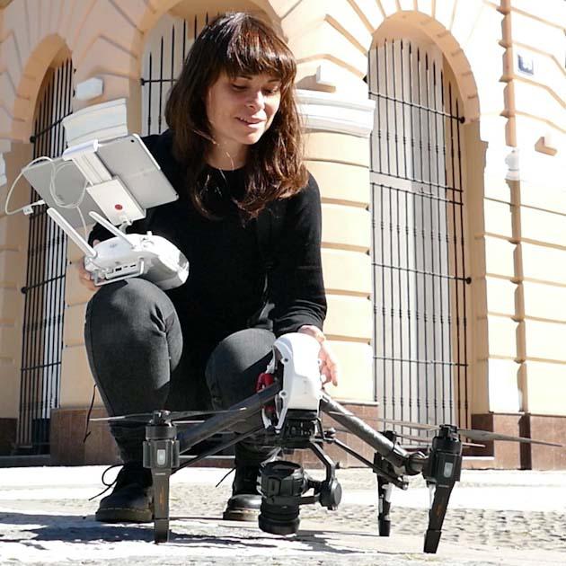 Télé-pilote de drone