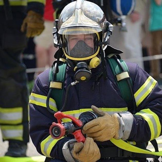 Sapeur pompier femme